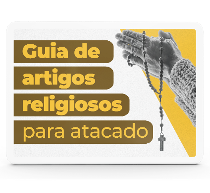 Quer revender artigos religiosos em sua loja católica? Já revende, e quer diversificar seu portfólio? Conheça os melhores artigos religiosos para sua loja católica!